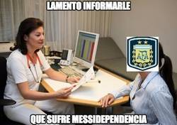 Enlace a #MessiDependencia