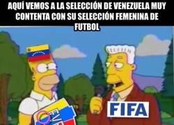 Enlace a Venezuela NO tiene selección masculina de fútbol
