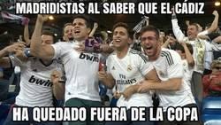 Enlace a El madridismo esta feliz con la eliminación del Cádiz en la Copa