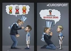 Enlace a Los argentinos están arrepentidos por cómo han tratado a Messi