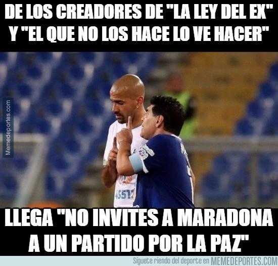 915995 - Maradona no entiende el contexto