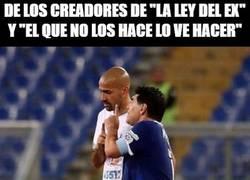 Enlace a Maradona no entiende el contexto