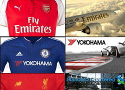 Enlace a Equipos de la Premier y sus aerolíneas