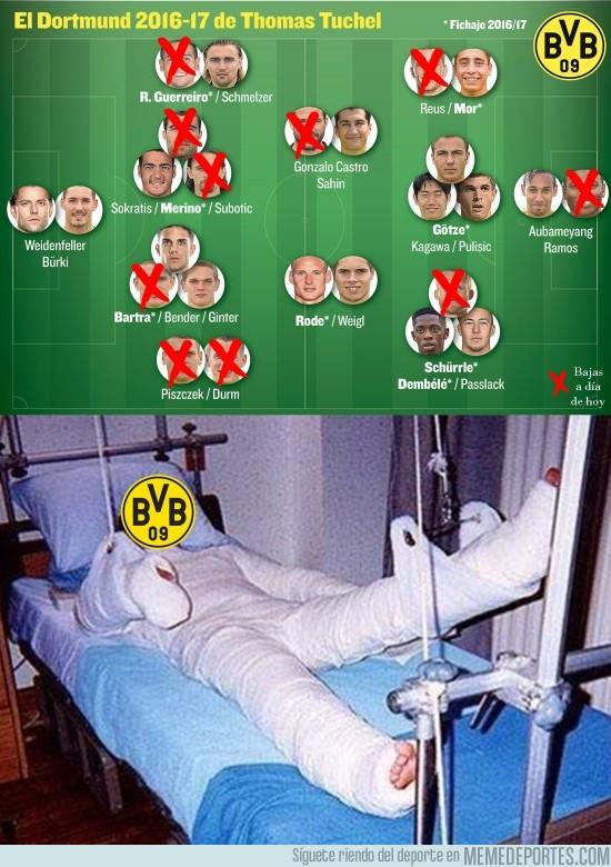 916081 - Situación actual del Borussia Dortmund