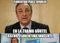 Enlace a Los defensores de Florentino empiezan a salir