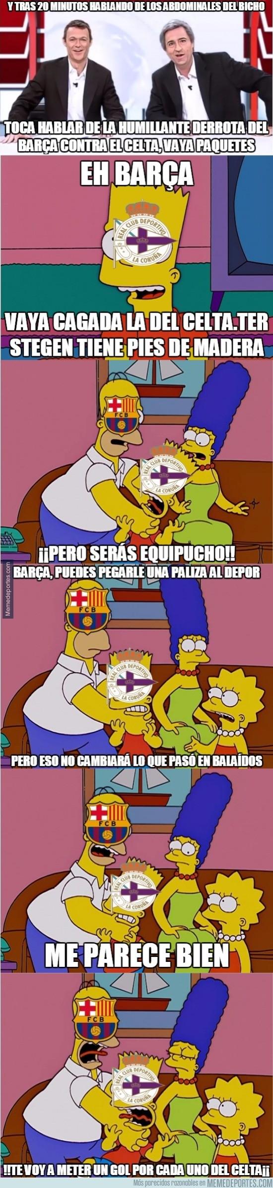916468 - El Deportivo ha pagado la derrota en Balaídos
