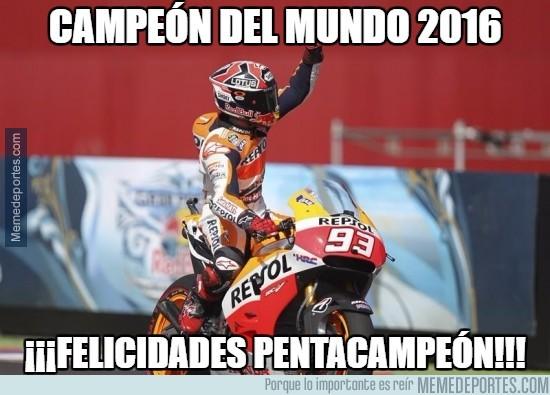916701 - Marc Márquez, campeón del mundo de MOTOGP 2016