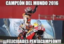 Enlace a Marc Márquez, campeón del mundo de MOTOGP 2016