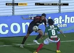 Enlace a GIF: Hace algunos años en el Benfica