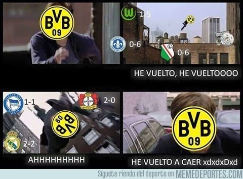916900 - El Borussia ha vuelto a caer
