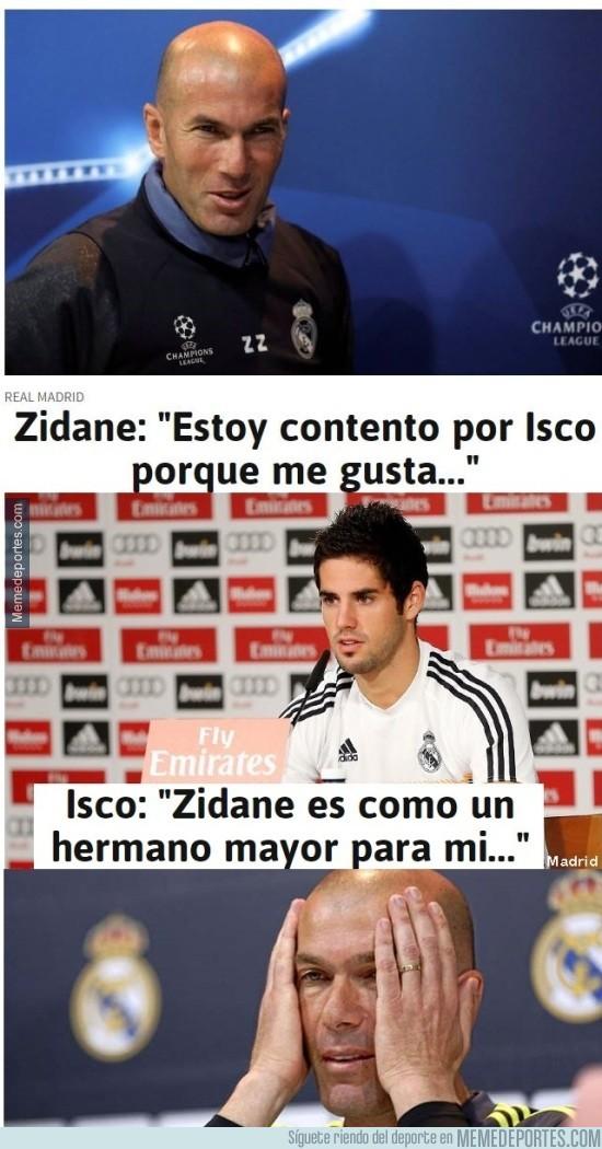 916931 - Así es cómo Isco ha mandado Zidane a la friendzone
