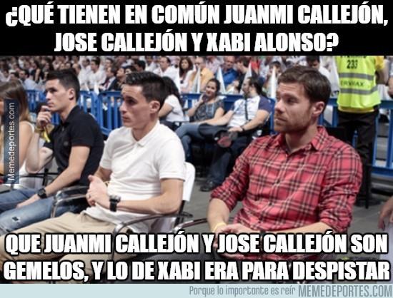 917046 - ¿Qué tienen en común Juanmi Callejón, José Callejón y Xabi Alonso?