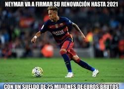 Enlace a Las astronómicas cifras del nuevo sueldo de Neymar... tras impuestos