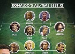 Enlace a El 11 ideal de Ronaldo el Fenómeno