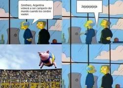 Enlace a ¿Argentina campeón del mundo?