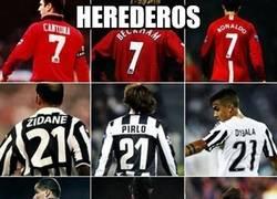 Enlace a Grandes herederos del fútbol