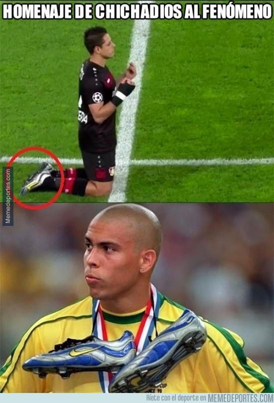 917359 - El homenaje de Chichadios al fenómeno Ronaldo