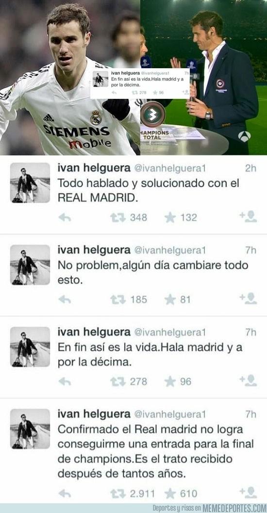 917402 - Así trató el Real Madrid a un exjugador en su día