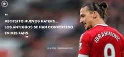 Enlace a Zlatan ganando amigos