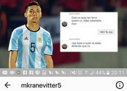 Enlace a Matías Kranevitter del Sevilla involucrado en un chat comprometedor