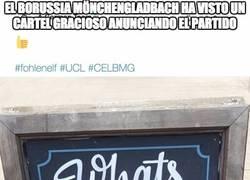 Enlace a Genialidad absoluta del Borussia Mönchengladbach