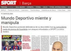 Enlace a ¡PELEA! Nuevo round entre Mundo Deportivo y SPORT