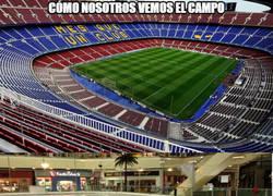 Enlace a Distintas formas de ver el Camp Nou