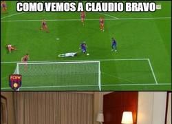 Enlace a Bravo en el gol de Messi...
