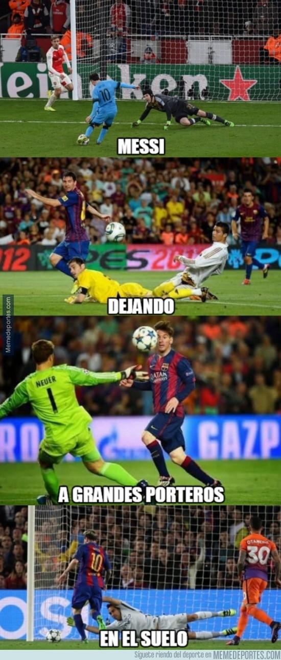 917757 - Esto ya es un clásico en Messi