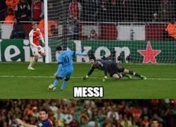 Enlace a Esto ya es un clásico en Messi