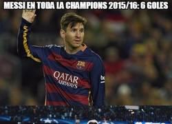 Enlace a Un año completamente diferente de Messi