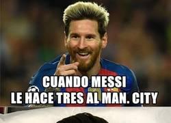 Enlace a Noche de UCL para Messi y Cristiano