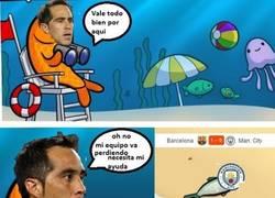 Enlace a Resumen de la expulsion de Bravo frente al Barça