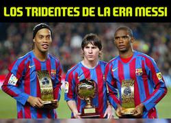 Enlace a Los tridentes de la era Messi