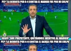 Enlace a Comparamos lo que dijo Pedrerol de Guardiola hace un año con lo que dice ahora