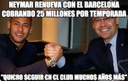 Enlace a Neymar sigue por lo deportivo en el Barça