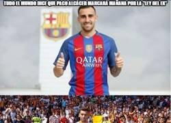 Enlace a El gran tapado en el Valencia-Barça