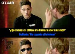 Enlace a Las palabras de Bellerin para el Barcelona