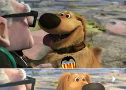 Enlace a El perro de Up se hace del Valencia