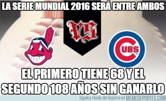 918794 - Increíble dato de cara a la Serie Mundial 2016 de la MLB