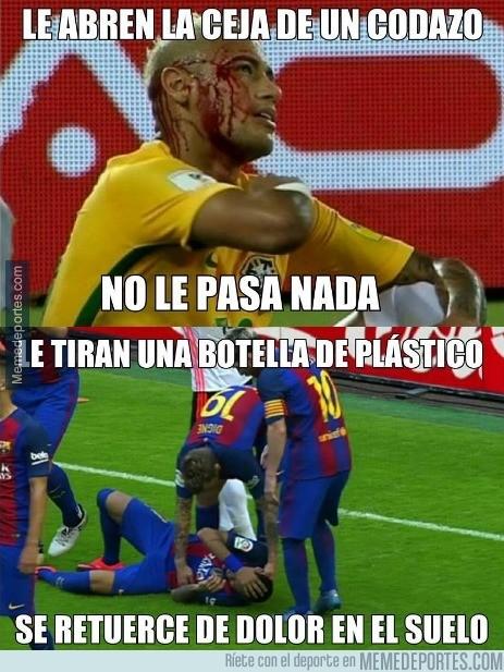 918982 - Incomprensible lo de Neymar...