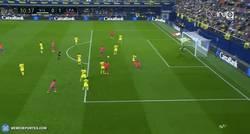 Enlace a GIF: Candidato a mejor gol de la temporada este gol de Boateng y la jugada colectiva de Las Palmas