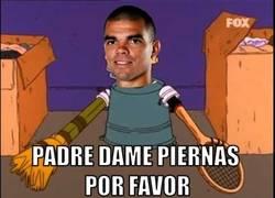 Enlace a Pepe en el empate del Madrid