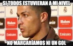 Enlace a Cristiano la vuelve a liar con sus declaraciones tras su partido frente al Athletic