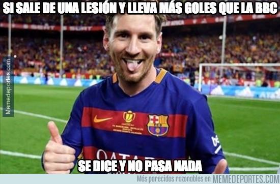 919266 - El nivel de Messi tras la lesión