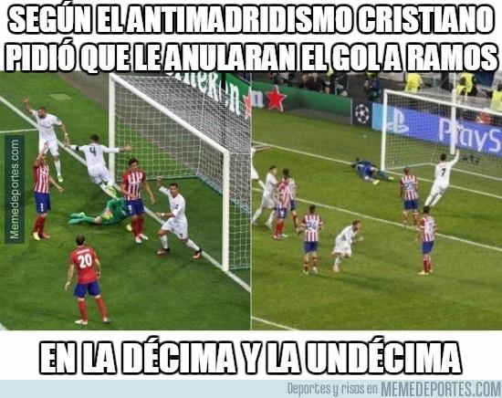919334 - Ctristiano también pidió que le anularan el gol a Ramos en la décima y la undécima