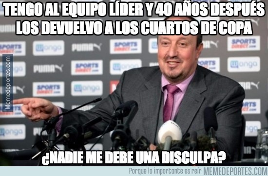 920110 - Benítez reviviendo al Newcastle