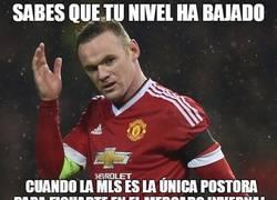 Enlace a Rooney debería espabilar