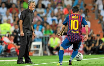 920352 - Las 5 veces que Messi desesperó a Mourinho