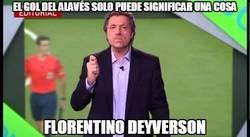 Enlace a El gol del Alavés al Real Madrid